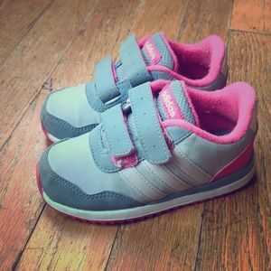 Adidas toddler girl sneakers